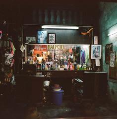 Evening Lull (Tim Roper) Tags: 50mm hoian mamiya6 vietnam film portra400 mamiya kodak 400 portra night