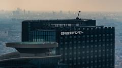 DSC_0124 (Adrian De Lisle) Tags: asia city cityscape helipad japan shinjuku tokyo tokyometropolitangovernmentbuilding towers shinjukuku tōkyōto