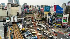 DSC_0250 (Adrian De Lisle) Tags: asia city cityscape crosswalk crowd japan people shibuya shibuyacrossing shibuyahikarie tokyo train trainstation shibuyaku tōkyōto