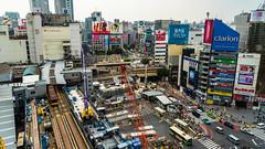 DSC_0070 (Adrian De Lisle) Tags: asia city cityscape crosswalk crowd japan people shibuya shibuyacrossing shibuyahikarie tokyo train trainstation shibuyaku tōkyōto