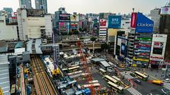 DSC_0007 (Adrian De Lisle) Tags: asia city cityscape crosswalk crowd japan people shibuya shibuyacrossing shibuyahikarie tokyo train trainstation shibuyaku tōkyōto