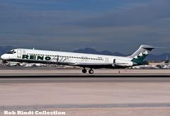 Reno Air MD-82 N821RA (planepixbyrob) Tags: renoair reno mcdonnelldouglas douglas md82 md80 n821ra las lasvegas vegas retro kodachrome