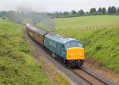 Peak (Treflyn) Tags: peak sulzer type br british rail recently overhauled class 46 46010 clag top eardington bank bridgnorth severn valley railway svr 2019 spring diesel festival gala 4
