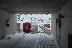 MGB - Station Oberalppass (Kecko) Tags: 2019 kecko switzerland swiss schweiz suisse svizzera innerschweiz zentralschweiz uri oberalp pass matterhorngotthardbahn railway railroad mgb eisenbahn bahn bahnhof station train zug tunnel oberalppass swissphoto geotagged geo:lat=46659850 geo:lon=8670750