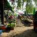 Early morning riverside market in Hsipaw, Myanmar