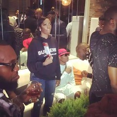 Wizkid and Tiwa Savage spotted at Patoranking's album listening party. Photos (baydorzblogng) Tags: nigeria news africa international celebrity gists other education fashion