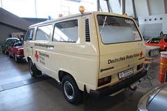 VW T3 1.9 DRK (1986) (Mc Steff) Tags: vw t3 19 drk 1986 deutschesroteskreuz volkswagen retroclassicsstuttgart2018