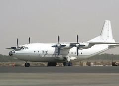 Antonov AN12                             UN-11005 (Flame1958) Tags: antonovan12 an12 antonov un11005 2133 sharjah shj sharjahairport 241103 1103 2003 omsj مطار الشارقة الدولي