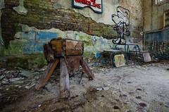 DSC_1426 (The Archives of Decay) Tags: urbanexploring urbexphotography udssr lostplaces abandonedplaces abandoned verlassen abandonedmilitarybuilding sovietunion sowjetunion gssdwgt gssd kaserne sovietunionabandoned