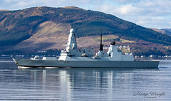 Royal Navy Type 45 Destroyer - HMS Defender (Ratters1968: Thanks for the Views and Favs:)) Tags: canon7dmk2 martynwraight ratters1968 canon dslr photography digital eos warships ship navy war military fleet faslane greenock cloch jw jointwarrior2019 clyde riverclyde scotland sea water nato exjw19 british britishmilitary mod defence royal royalnavy royalnavytype45destroyer hmsdefender defender hms destroyer type45