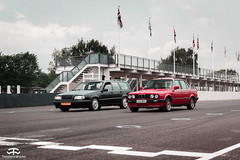 Volvo 850 2.5L 20V & BMW 318i E30 (TimelessWorks) Tags: time less works timeless timelessworks tw goodwood retro rides retrorides weekender retroridesweekender rrw 2019 bmw volvo 850 318 318i e30 p80 estate sedan wagon station england auto car automobile automotive vehicle bil carmeet event carevent carshow track circuit low lowered lowlife stance fitment modified tuning becauseracecar