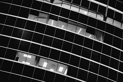 Curves (Thomas Hawk) Tags: america arizona phoenix us usa unitedstates unitedstatesofamerica architecture bw