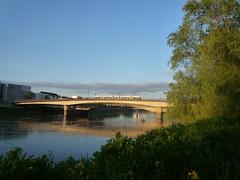 Pont (uitdragerij) Tags: nantes france loire river pont bridge