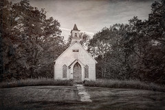 Abandoned Kyger Methodist Church from 1884 near Cheshire, Southeastern Ohio (diana_robinson) Tags: abandoned old rustic church blackandwhite kygermethodistchurch 1884 cheshire southeasternohio ohio