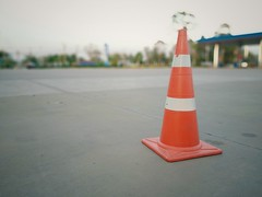 Red rubber cone (naatoy) Tags: symbol white sign caution warning safety road work street traffic cone orange transportation danger asphalt red barrier construction car highway plastic stop object concrete color station woman wheelchair icon yellow lot gas disabled man floor way cripple park pipes striped motorists health people background cement reflective basement illustration mall signal
