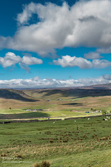 Big Sky over Widdybank May 2019 (Richard Laidler) Tags: aonb areaofoutstandingnaturalbeauty bright clouds countydurham cronkleyscar dramaticlight fine globalgeopark latespring longdistancefootpath northpennines northpenninesaonb pennineway sunny sunshine teesdale upper upperteesdale widdybankfarm widdybankfell