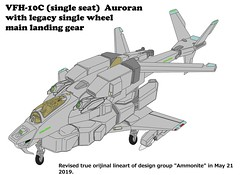 VFH-10C single seat Auroran with twin sensor pod (yuina1107) Tags: 複合ヘリコプター 超時空騎団サザンクロス 超時空要塞マクロス 可変戦闘機 バルキリー vf1 超時空シリーズ コクピット コックピット スウェーデン空軍 foxhound gyrodyne helicopter attackhelicopter sikorsky super dimension cavalry southerncross veritech veritechfighter variablefighter agac ajax robotech cockpit robotechmasters valkylie