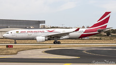 Malta International Airport (Redeemer_Saliba) Tags: air mauritius airbus a330202 3bnbm departure lmml luqa airport rwy 31