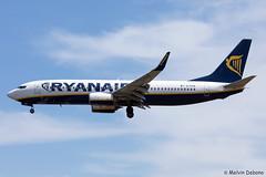 Ryanair Boeing 737-8AS  |  EI-EVW  |  LMML (Melvin Debono) Tags: ryanair boeing 7378as | eievw lmml cn 40318 melvin debono spotting canon plane planes photography airport airplane aircraft malta mla