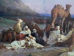 Bivouac des chameliers (bpmm) Tags: algérie gustaveguillaumet lapiscine nord roubaix art expo exposition peinture