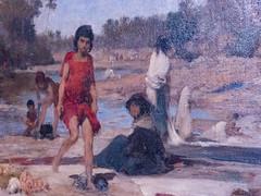 Trois laveuses (bpmm) Tags: algérie gustaveguillaumet lapiscine nord roubaix art expo exposition peinture