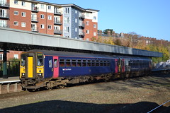 Great Western Railway Super Sprinter 153329 & 153333 (Will Swain) Tags: exeter st davids station 18th november 2018 gwr first group central south west devon train trains rail railway railways transport travel uk britain vehicle vehicles england english europe great western super sprinter 153329 class 153 329 153333 333