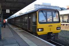 Great Western Railway Pacer 143612 (Will Swain) Tags: exeter st davids station 18th november 2018 gwr first group central south west devon train trains rail railway railways transport travel uk britain vehicle vehicles england english europe great western pacer 143612 class 143 612
