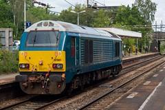 DB Cargo 67001 (Mike McNiven) Tags: dbcargo db cargo transportforwales tfw loco locomotive diesel crewe tmd longsight downgoodsloop healdgreen