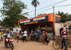 Modern bakery in town, Tonkpi Region, Man, Ivory Coast (Eric Lafforgue) Tags: adults africa africanculture africanethnicity bakery business citylife colourimage côtedivoire cultures developingcountries food foodanddrink freshness groupofpeople horizontal indigenousculture ivorycoast ivory9364 lifestyles man market marketretailspace marketstall men merchandise modern outdoors pastry photography rawfood selling shop socialissues store streetmarket tonkpi town trading traveldestinations westafrica women tonkpiregion