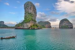 Railey beach/ Krabi/Thailand (meren34) Tags: thailand aonang krabi andaman ısland sea blue phiphi south asia railey beach