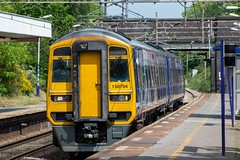 Northern 158794 (Mike McNiven) Tags: arriva railnorth northern sprinter supersprinter dmu diesel multipleunit barrow barrowinfurness manchester manchesterairport airport healdgreen
