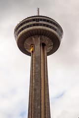 Skylon Tower (Stefen Acepcion) Tags: nagara falls observation eye deck tall sky concrete brutalist glass elevator new canada monday may skylon skylontower