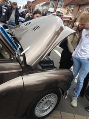 Morris Minor Convertibe @ Stratford Festival Of Motoring, 6th May 2019 (ukdaykev) Tags: motoring midlands morris morrisminor car classiccar classictransport classic convertible transport 2019 vehicle stratford stratforduponavon stratfordfestivalofmotoring