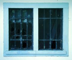 Breaking Bad Nr.1 (Dan Daniels) Tags: windows screens glass rundown uglyartsy broken architecture oldarchitecture iron ironbars nikon nikond90 audand riehen kantonbaselstadt schweiz cantonbaselstadt switzerland