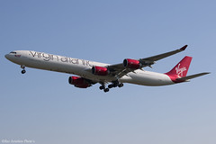 G-VWEB (Baz Aviation Photo's) Tags: gvweb airbus a340642 virgin atlantic vir vs heathrow egll lhr 27l vs104