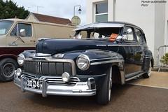 Mercury Eight (Monde-Auto Passion Photos) Tags: voiture vehicule auto automobile mercury eight coupé bleu blue ancienne classique rare rareté collection rassemblement france courtenay