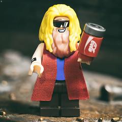 Fat Thor (Jezbags) Tags: fat thor avengers endgame macro macrophotography macrodreams minifigure macrolego marvel marvelstudios canon canon80d 80d 100mm toy toys lego legos legomarvel cola
