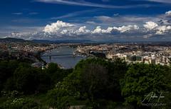 Budapest 13 (Andrew Teece) Tags: citadel gellert budapest hungary danube panorama