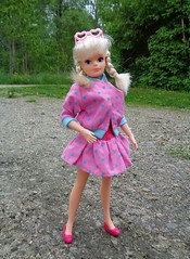 Casual Jacket pink 1987 (CooperSky) Tags: fashion for city girl sindy casual jacket mix 2 rara skirt 1