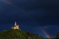 Rainbow @ the castle mountain