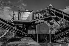 Machine Inconnue (Cyrille Gr) Tags: noirblanc machine