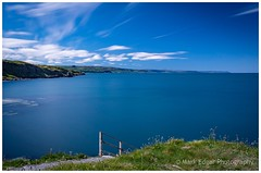 Headlands of Antrim (Mark Edgar) Tags: whiteclouds bluesea bluesky antrim headlands portmuck northernireland