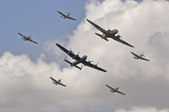 Trenchard Plus formation (Rob390029) Tags: royal air force battle britain memorial flight bbmf trenchard plus formation raf fairford ffd egva riat international tattoo