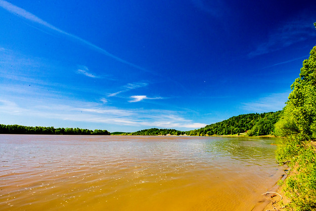 Hoosier National Forest - Mano Point, Ohio River - May 20, 2019