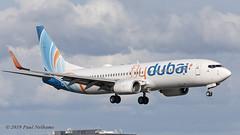 A6FDT 737 FlyDubai (Anhedral) Tags: a6fdt boeing 737 737800 fdb flydubai landing einn snn shannonairport