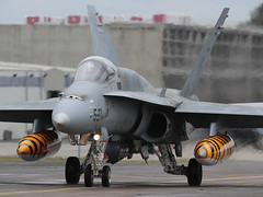 McDonnell Douglas EF-18A Hornet C.15-40 '15-27' Ala15 (Mark McEwan) Tags: mcdonnelldouglas f18 ef18a hornet c1540 ala15 spanishairforce natotigers ntm ntm2019 natotigermeet montdemarsan fighter aviation aircraft airplane ejércitodelaire