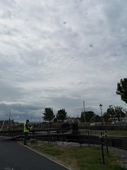 Drone at the Claddagh Basin. (mcginley2012) Tags: drone huaweip20pro claddagh galway ireland