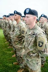 "190522-A-WV398-86 (Fort Campbell) Tags: weekoftheeagle2019 woe2019 woe 101stairbornedivisionairassault 101stsustainmentbrigade 3rdbrigadecombatteam""rakkasans"" 101stcombataviationbrigade 1stbrigadecombatteam 2nd brigade combat team fortcampbell us army air assault 129thcombatsustainmentsupport 129thcssb 101stspecialtroopsbattalion divisionreview screamingeagles"