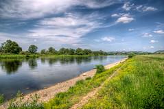 Elbe bei Altkaditz (binax25) Tags: elbe fluss ufer river landscape landschaft spring frühling leutewitz dresden elbradweg treidelpfad saxony germany