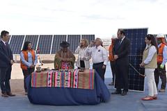 Foto45 (Intendente de Tarapacá) Tags: intendente quezada y ministra de energía participaron en la instalación los 1ros paneles fotovoltaicos granja solar 22052019